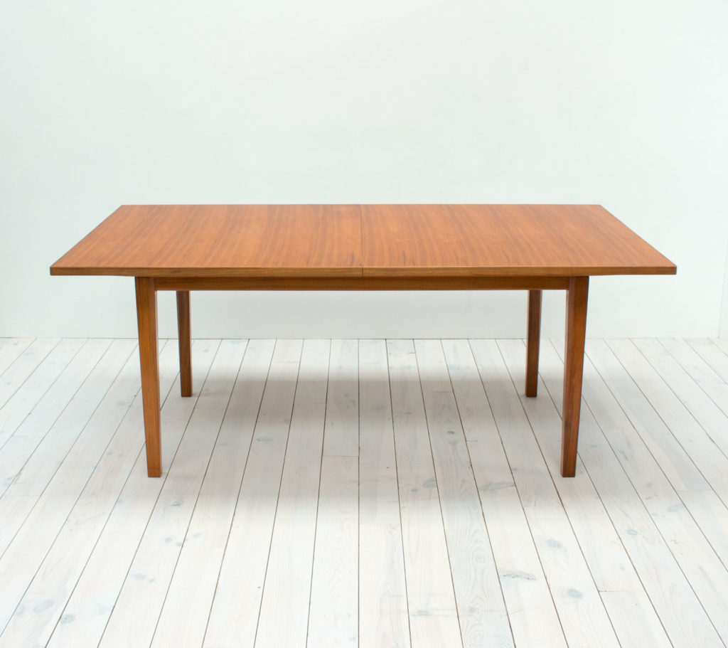 1960s Walnut Extending Dining Table by Gordon Russell