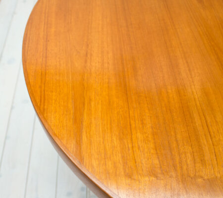 Danish Teak & Afromosia Oval Extending Dining Table