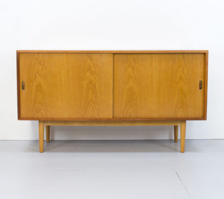 Robin Day Interplan Unit 'L' Ash Sideboard for Hille