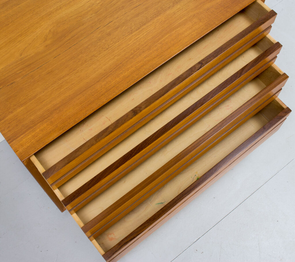 1960s Danish Teak Chest of Drawers by Poul Cadovius for Cado
