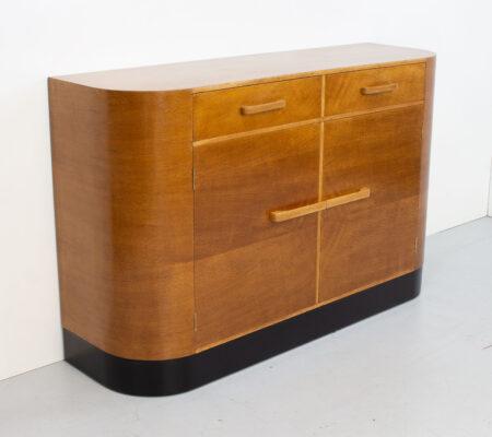 Modernist Art Deco Oak Sideboard