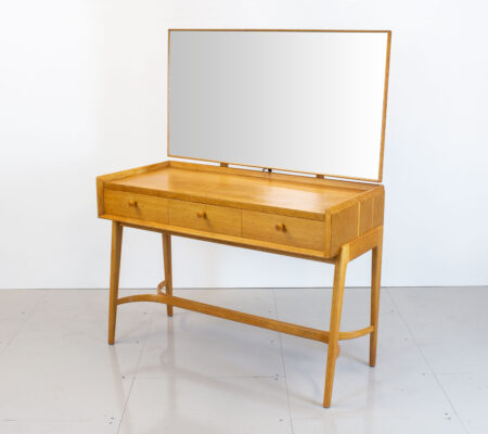 1950s Kandya Oak Dressing Table