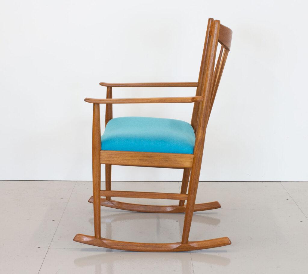 Danish Teak Rocking Chair by Arne Vodder for Sibast