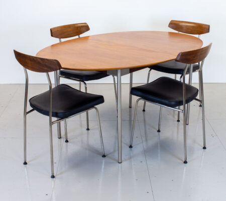 Stag S Range Teak Dining Table and Chairs by John & Sylvia Reid
