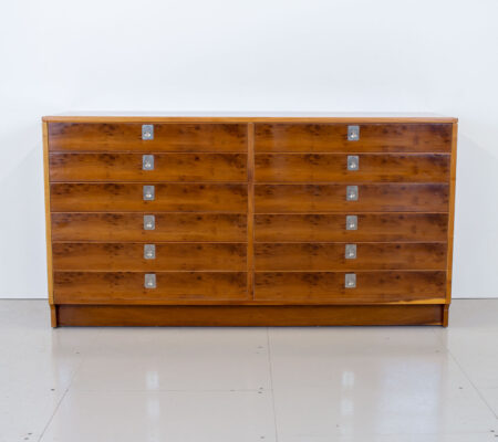 Yew Chest of Drawers by Robert Heritage for Archie Shine
